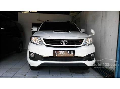 Spion Kap Mesin Mobil Toyota Fortuner 2012 Putih 1 jual mobil toyota fortuner 2013 g 2 5 di dki jakarta automatic suv putih rp 340 000 000