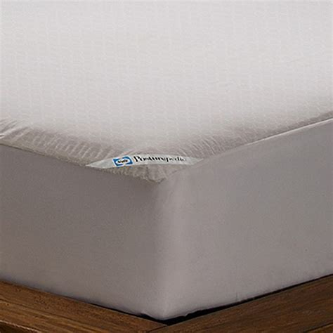 bed bath and beyond warranty sealy 174 posturepedic allergy protection mattress cover