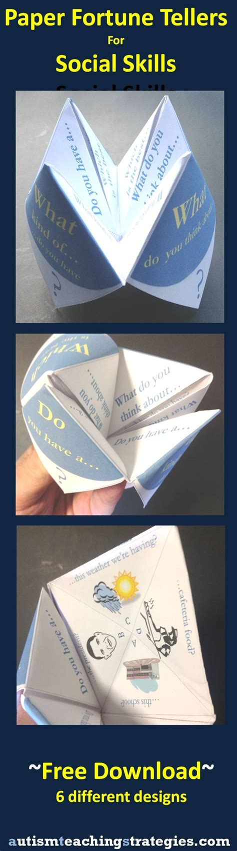 Paper Folding Breaker - 17 best ideas about paper fortune teller on