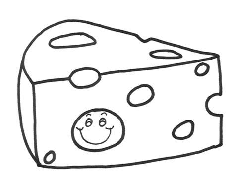 imagenes para pintar queso queso para colorear
