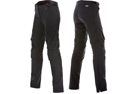dainese  drake air tex bayan motosiklet pantolonu siyah
