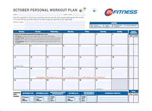 workout plan template pdf workout schedule template 7 free sle exle format