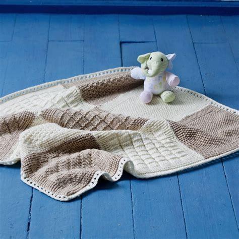 stricken decken kuschelige babydecke stricken