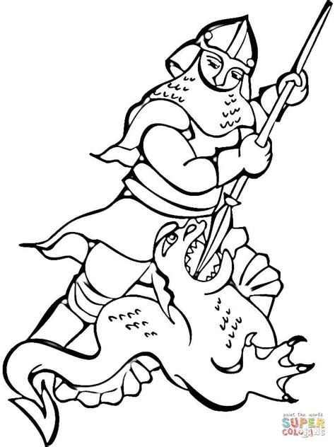 coloring pages of fighting knights knight fighting the dragon coloring page free printable