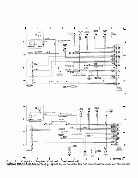 89 toyota wiring diagram toyota wiring diagram
