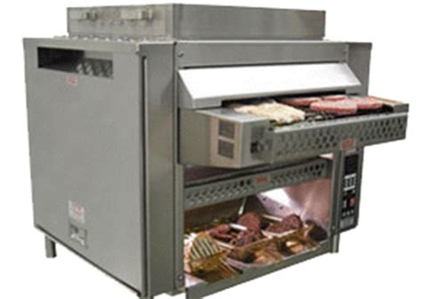 Commercial Kitchen Broiler by Marshall Air Hamburger Conveyor Broiler Commercial