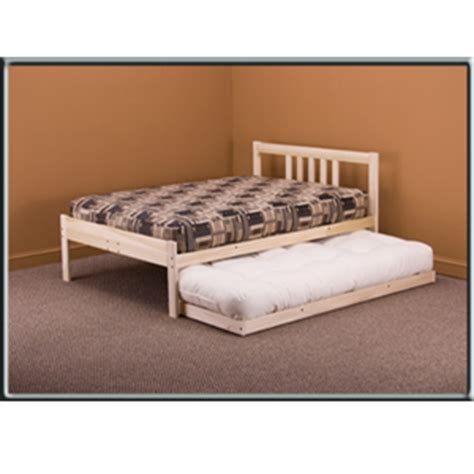 nomad platform bed nomad platform bed profile untreated wood bed frame