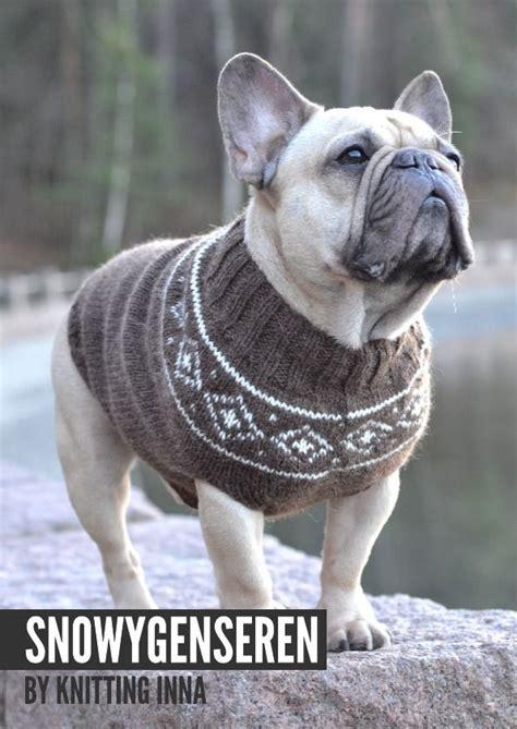 knitting pattern sweater french bulldog 1000 ideas about dog sweaters on pinterest dog sweater
