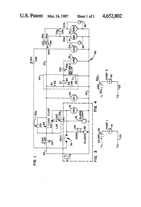 Patent Us4652802 Alternator Circuit Arrangement Useful