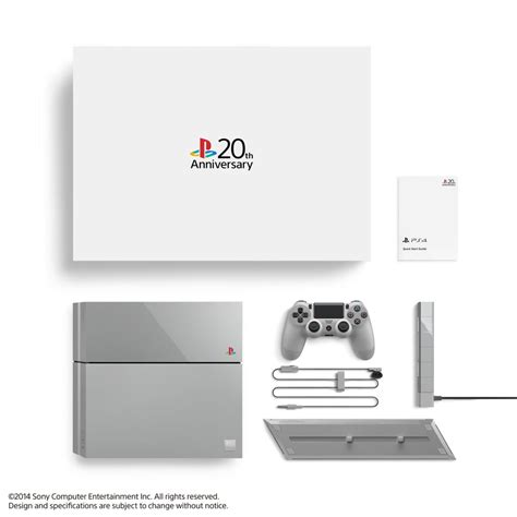 Ps4 20th Anniversary 20th anniversary ps4 bundle announced only 12 300 worldwide