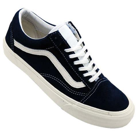 Jual Vans Skool Vintage Dress Blue vans skool unisex shoes vintage dress blues in stock at spot skate shop