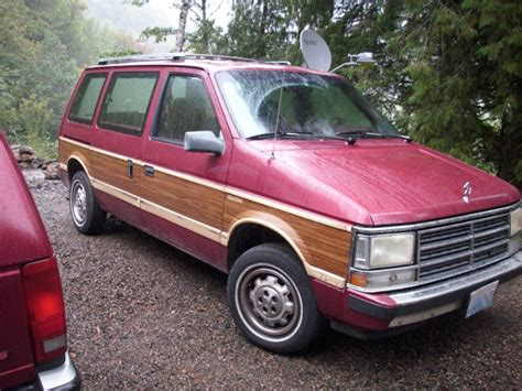 turbo dodge caravan 1989 dodge caravan woody turbo 1600 turbo dodge
