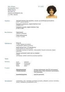 ansioluettelo pinterestiss 228 resume templates cv template