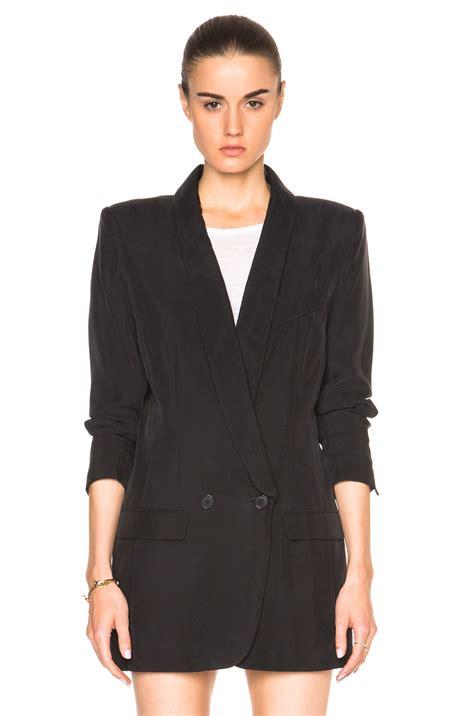 lyst smythe oversized blazer  black