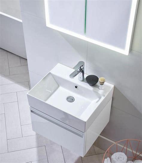 Standard Bathroom Vanity Sizes Tavistock Forum 500mm Wall Hung Vanity Unit And Basin