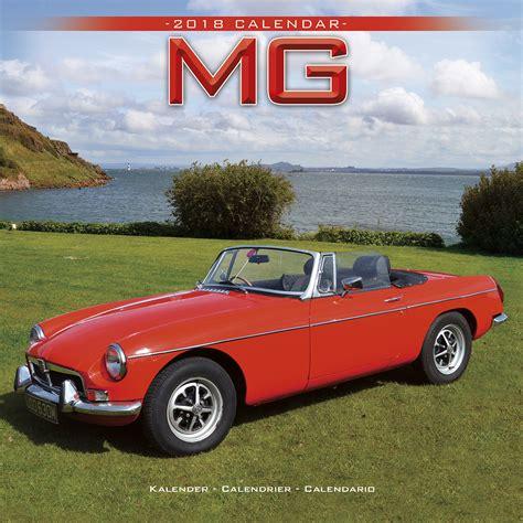 Calendar 2018 Car Mg Calendar 2018 30204 18 Car Calendars
