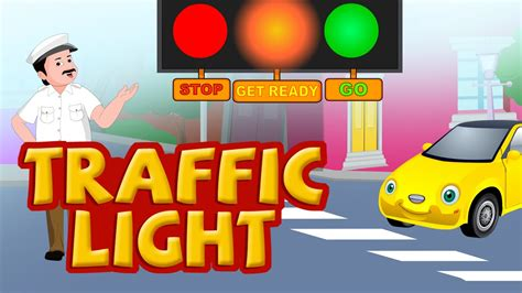 why are the lights in traffic signals always in order traffic light nursery rhymes for children youtube