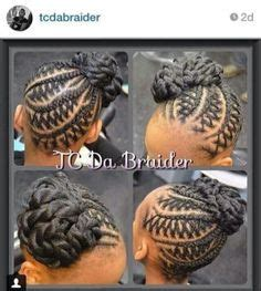 how to seal braids neatly now that s some neat braiding http community