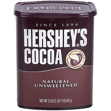 Hersheys 100 Cocoa Powder Unsweetened hershey s unsweetened 100 cocoa 23 oz ezneeds