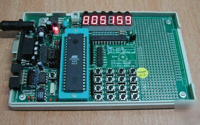 Pcf8593 T Philips Low Power Real Time Clock Rtc And Calendar So8 new 805159 8051 89c51 89s51 mcu kit sbc 6 digit led