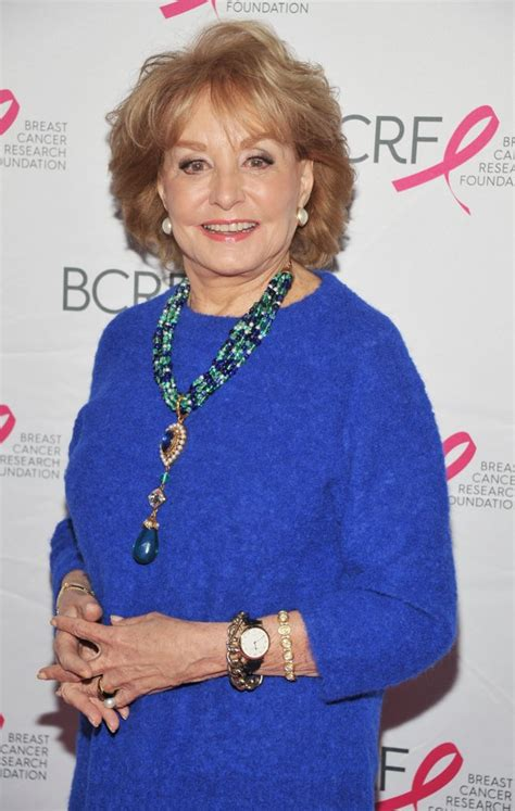 Barbara Walters Has A New by Barbara Walters Picture 50 2014 Breast Cancer Research