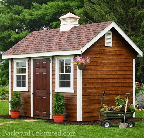 pin  backyard unlimited californias amish  sheds gazebos  gardengreenhouses