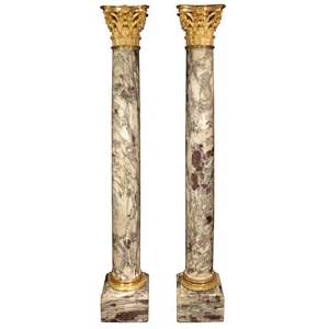 Vases For Fireplace Mantels French 19th Century Fleur De P 234 Cher Marble And Ormolu