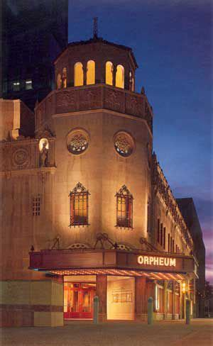 tour the orpheum theatre in phoenix, az