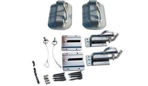 inflatable boat swim platform mounts snap davits for inflatable boats