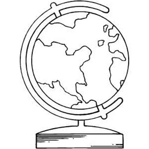 coloring page of a globe earth globe coloring sheet