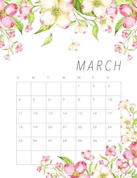 printable beautiful flowers free printable 2018 floral calendar free printable