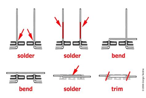 how to solder resistor soldering wires and leads