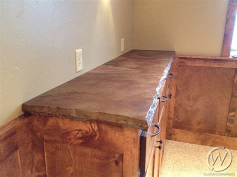 stained concrete countertops customcretewerks inc