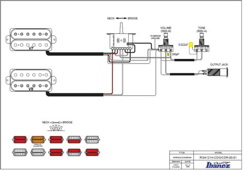 ibanez 5 way wiring diagram ibanez grg series wiring