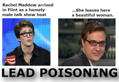 chattering teeth: rachel maddow's flea circus and dog
