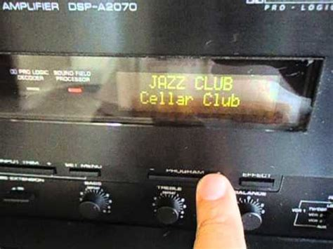 yamaha dsp   home theater amplifier youtube