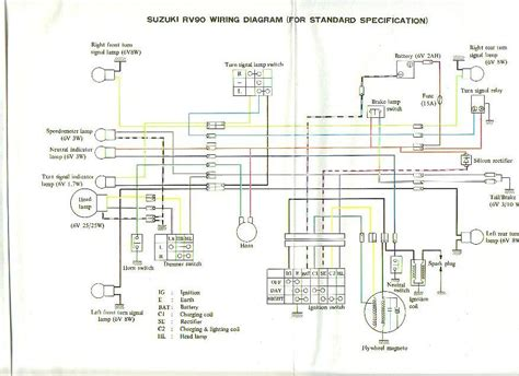 suzuki rv90 wiring diagram 26 wiring diagram images