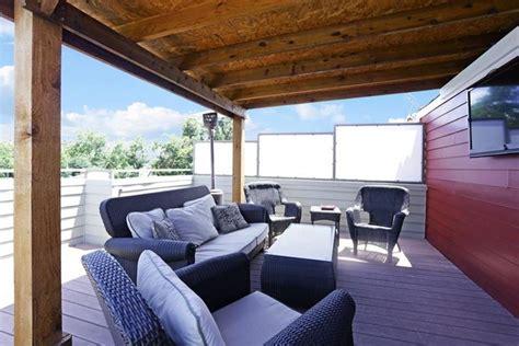 copertura in legno per terrazzo tettoia terrazzo tettoie da giardino come scegliere le