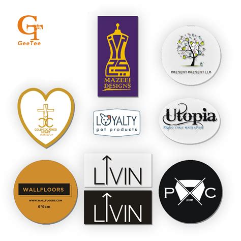 printable vinyl stickers aliexpress com buy custom logo brand print wedding
