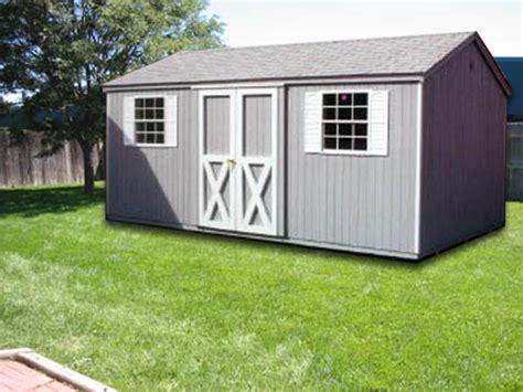 R Shed by 10 X16 Ranch R 1 Portable Buildings Inc Milford De