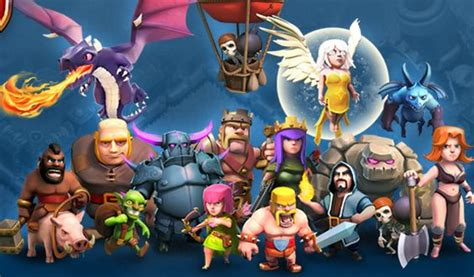 wallpaper keren coc hd clash of clans picture wallpaper for coc fans game
