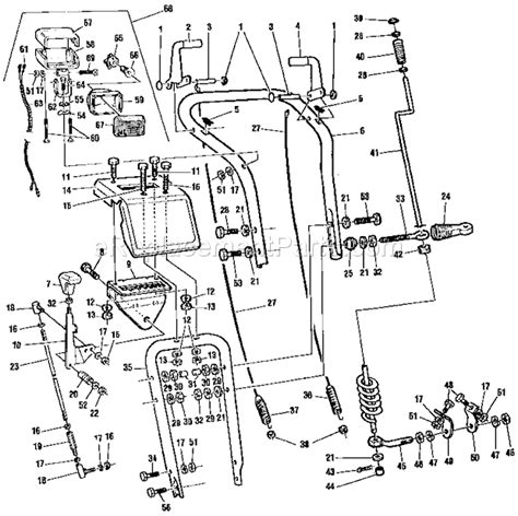 craftsman snowblower parts diagram craftsman c950523183 parts list and diagram