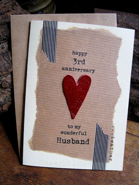 Handmade Gifts For Husband On Anniversary - 17 best ideas about 3rd wedding anniversary on