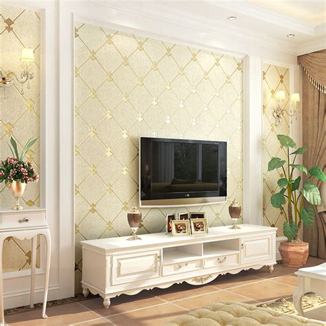 Decor Eco by European Style 3d Stereo Embossed Wallpaper Living Room