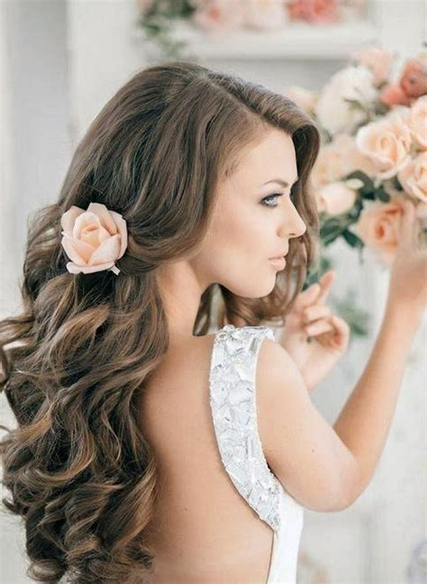 Best hairstyles for long hair wedding : Hair Fashion Style