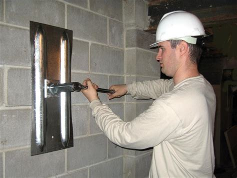 Foundation Wall Crack Repair
