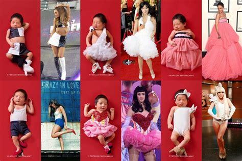 Setelan Baju Anak Caty Pink bikin gemas lucunya bayi nindy didandani ala beyonce