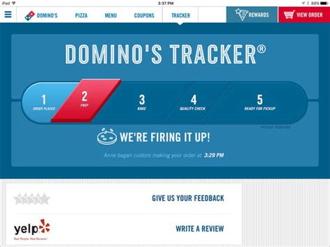 domino pizza app domino s pizza usa on the app store