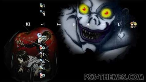 death note l theme hd playstation universe ps3 themes 187 search results for quot death note quot