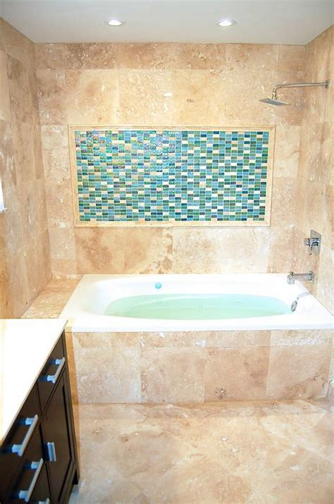 Bathtubs Miami by Miami Bath Travertine Remodeling With Jetted Bathtub Jpg